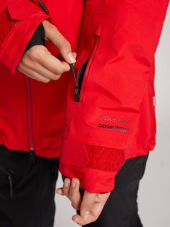 Nya Tds® Gore-tex Jacket In Crimson, Third Alternate View