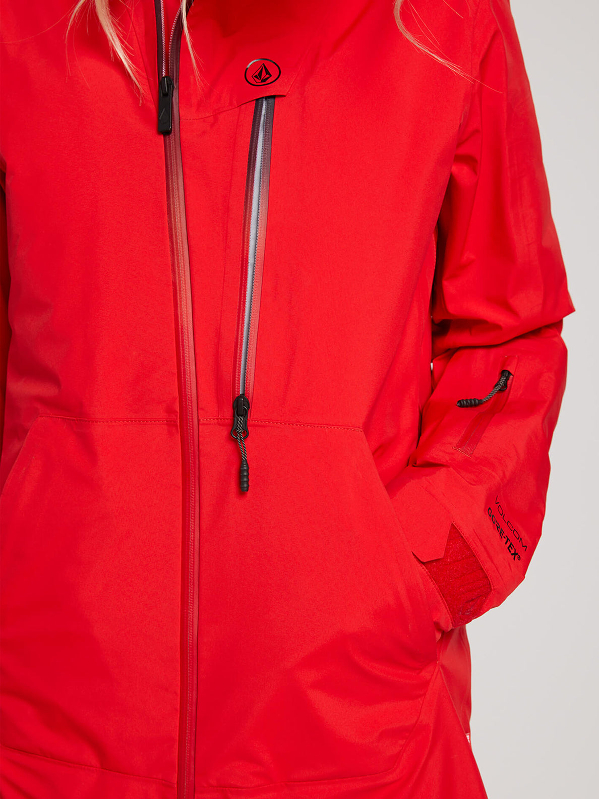 Nya Tds® Gore-tex Jacket In Crimson, Fourth Alternate View