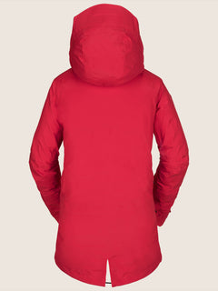Nya Tds® Gore-tex Jacket In Crimson, Back View
