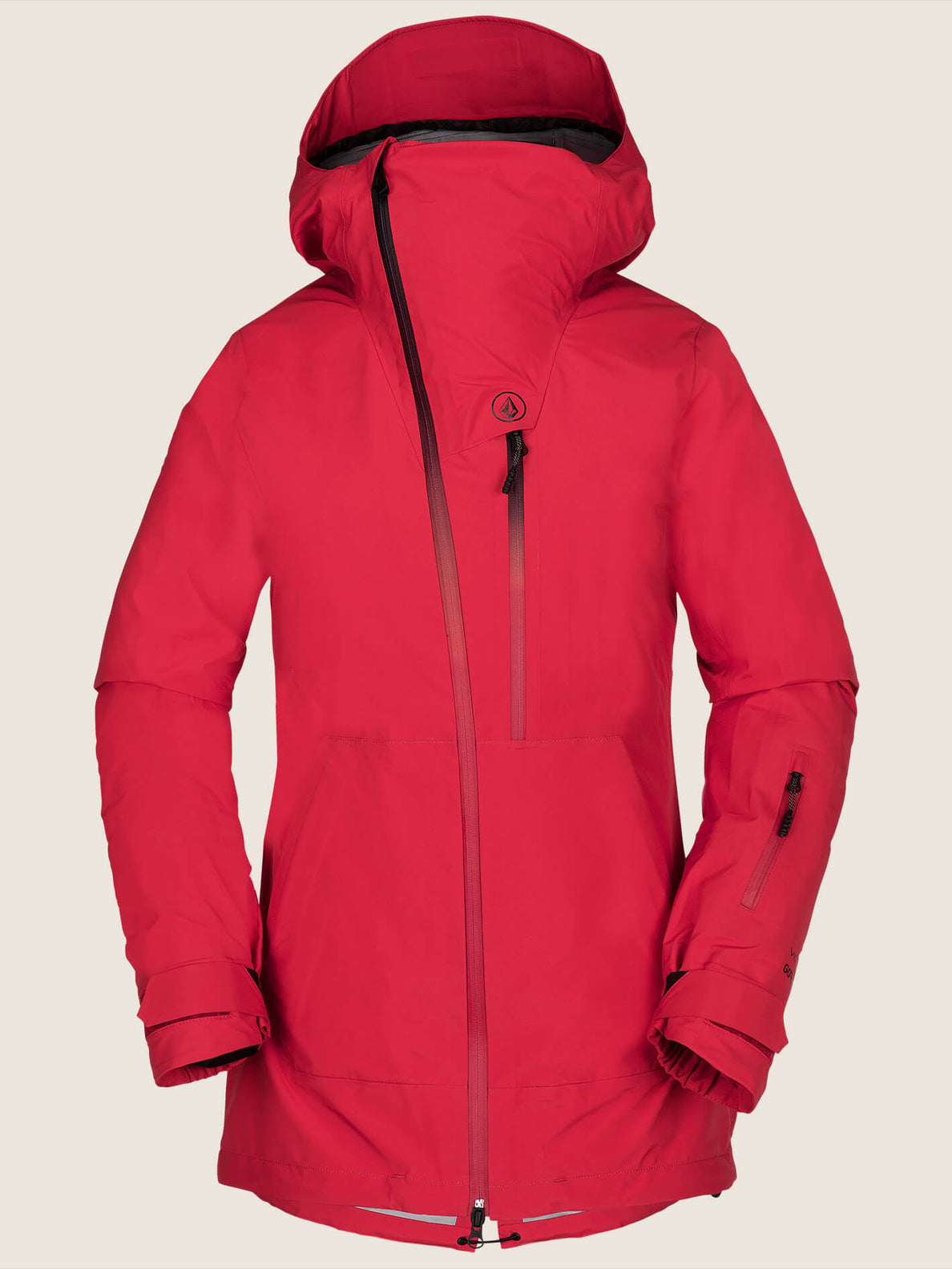 Nya Tds® Gore-tex Jacket In Crimson, Front View