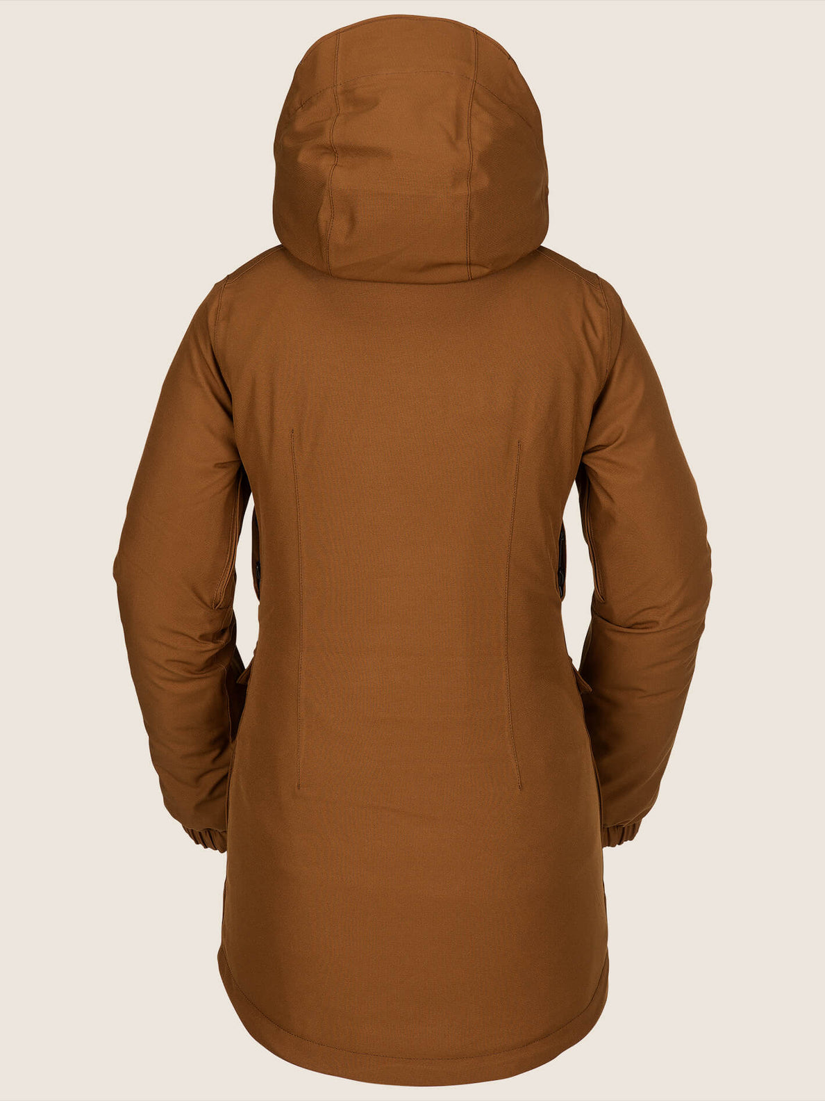 Shelter 3D Stretch Jacket In Copper, Back View