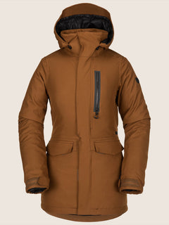 Shelter 3D Stretch Jacket In Copper, Front View
