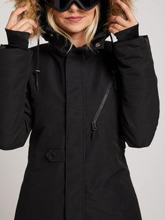 Fawn Ins Jacket In Black, Alternate View