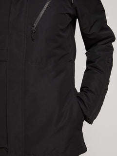 Fawn Ins Jacket In Black, Fifth Alternate View