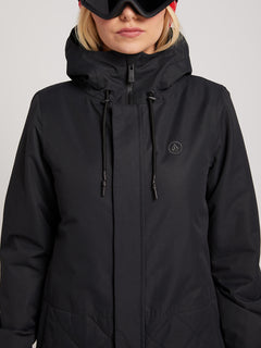 Winrose Insulated Jacket In Black, Alternate View
