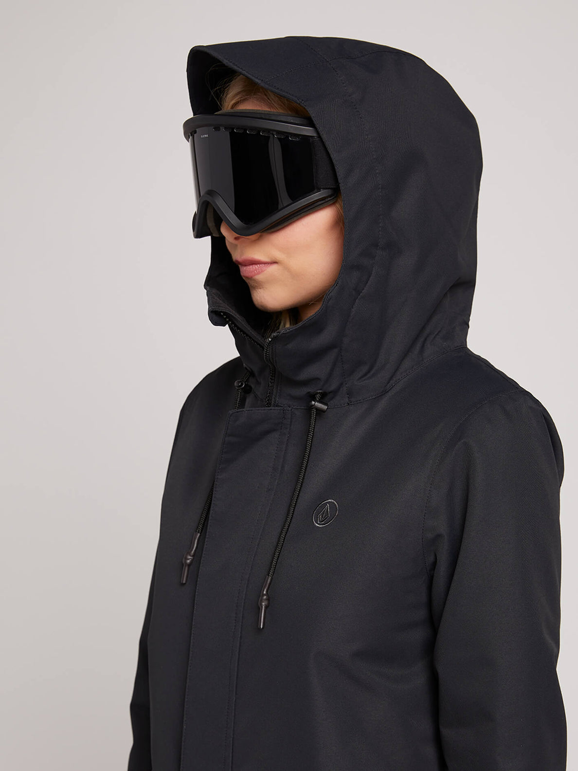 Winrose Insulated Jacket In Black, Third Alternate View