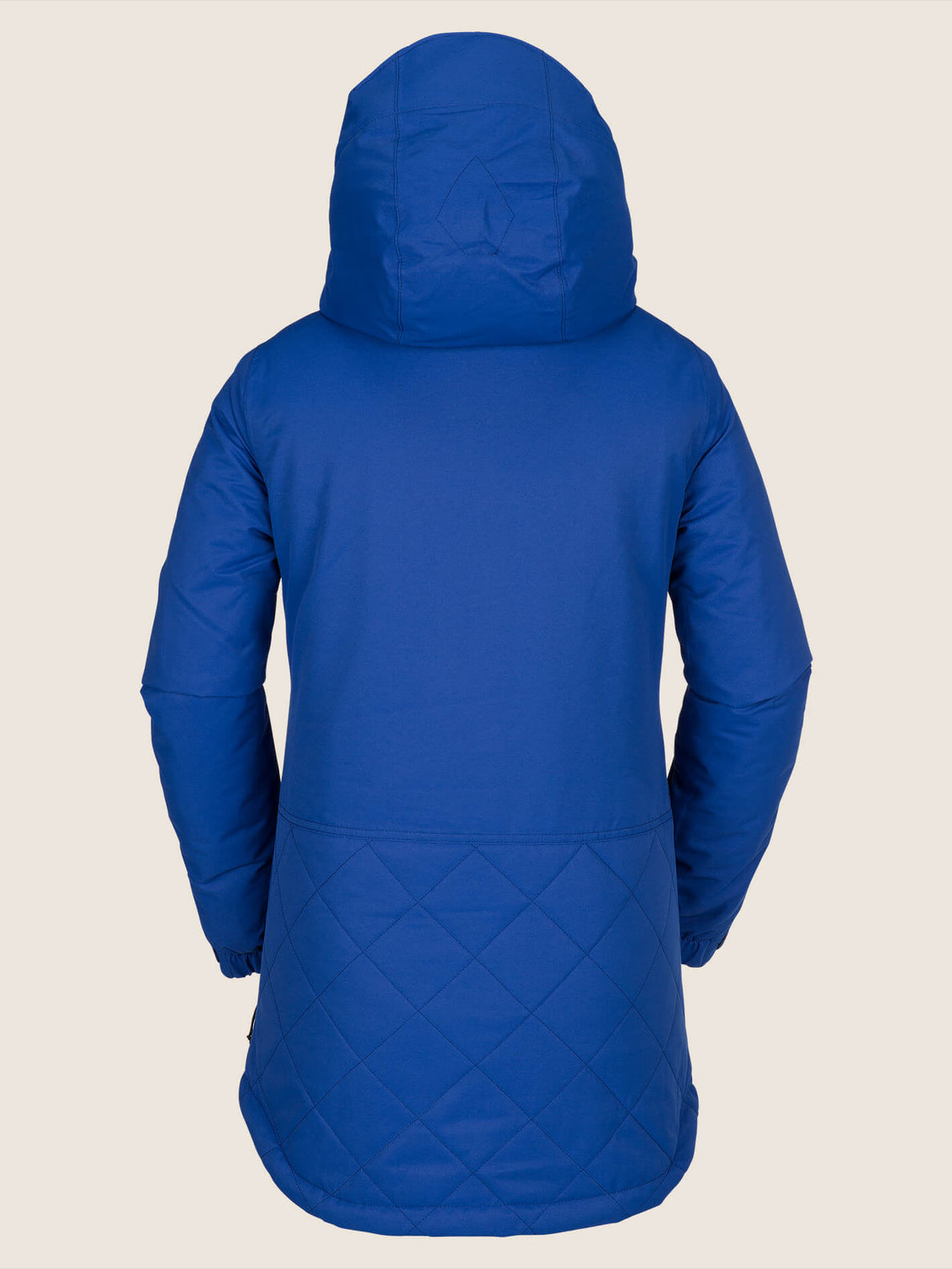 Winrose Insulated Jacket In Electric Blue, Back View