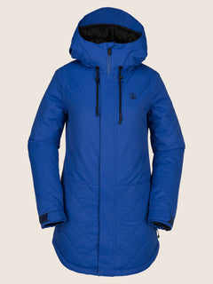 Winrose Insulated Jacket In Electric Blue, Front View
