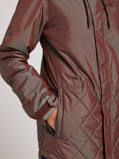 Winrose Insulated Jacket In Iridescent Magenta, Third Alternate View