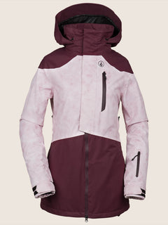 Pine 2L Tds® Jacket In Merlot, Front View