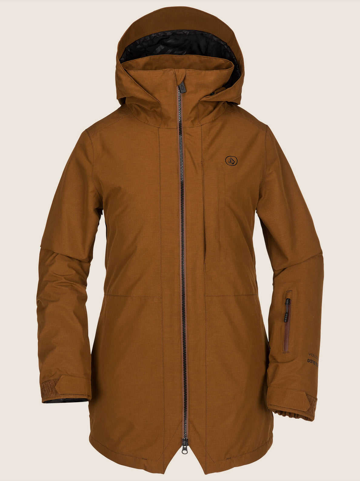 Iris 3-In-1 Gore-tex Jacket In Copper, Front View