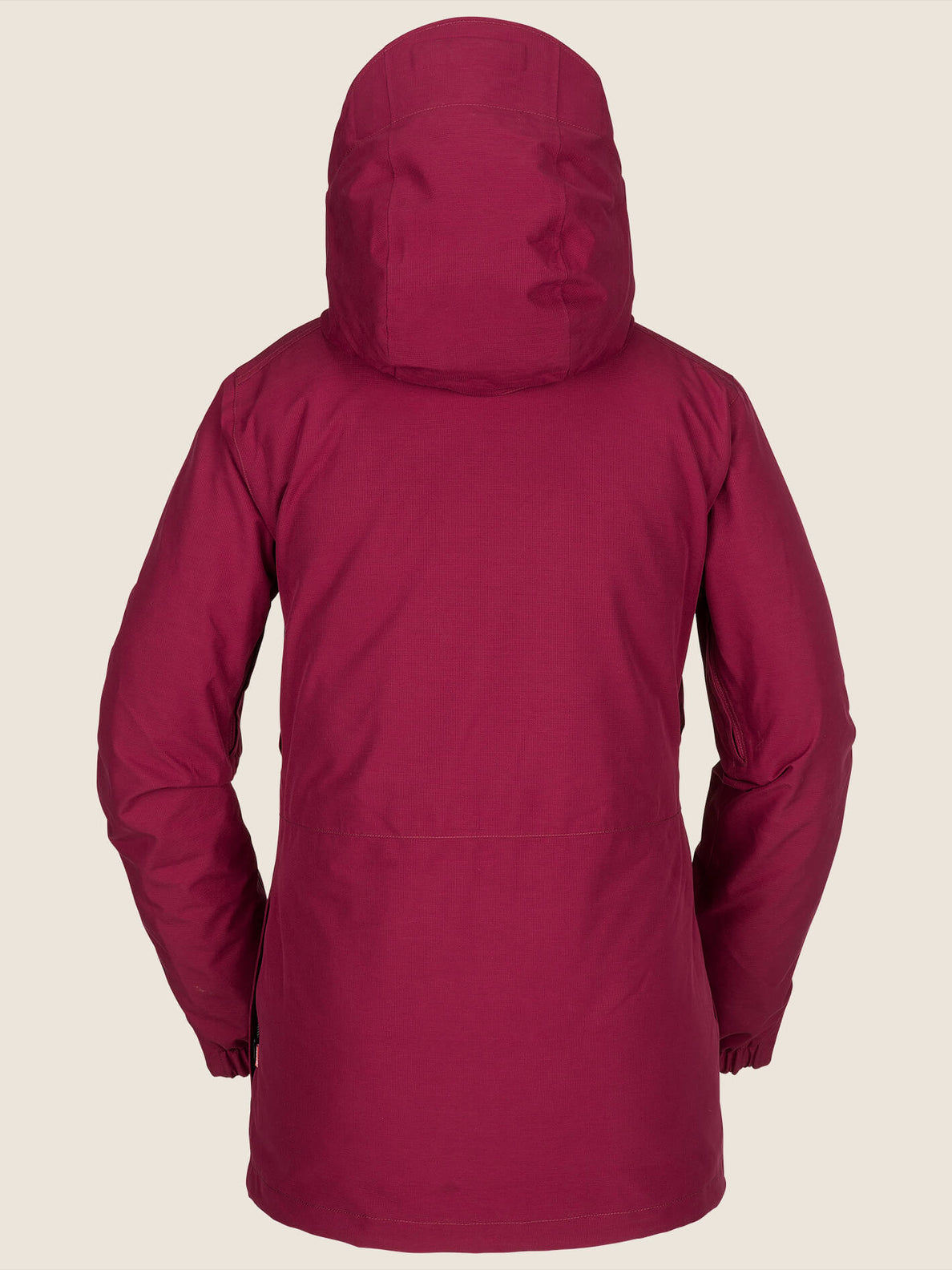 Iris 3-In-1 Gore-tex Jacket In Magenta, Back View