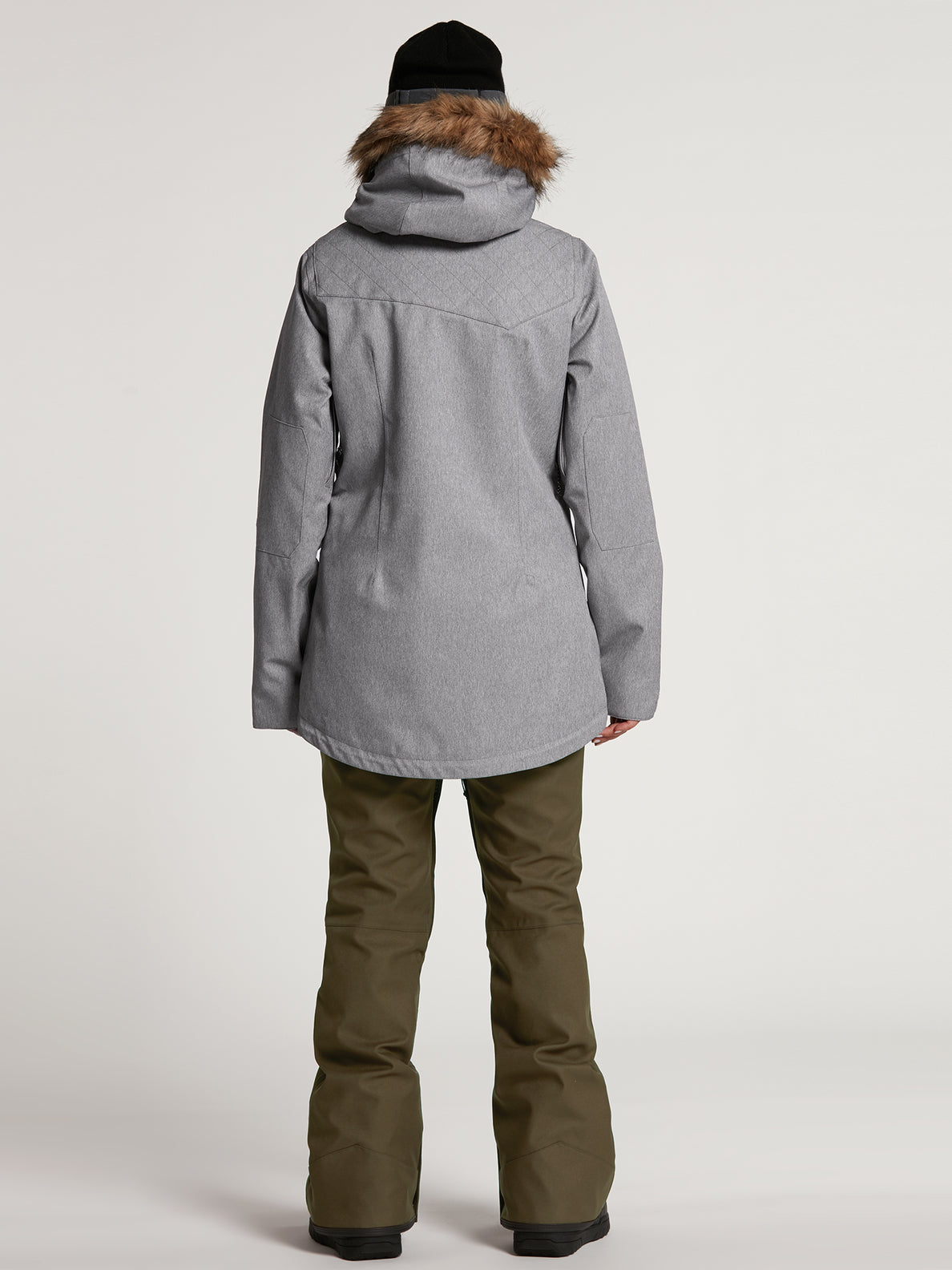 Womens Shadow Insulated Jacket - Military (H0451913_MIL) [22]