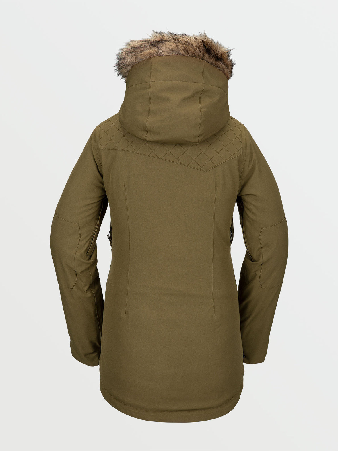 Womens Shadow Insulated Jacket - Military (H0451913_MIL) [B]