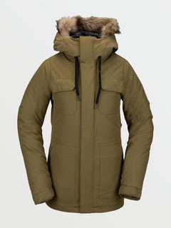 Womens Shadow Insulated Jacket - Military (H0451913_MIL) [F]
