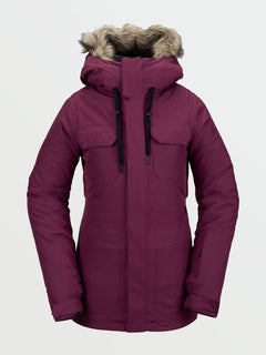 Womens Shadow Insulated Jacket - Vibrant Purple (H0451913_VIB) [F]