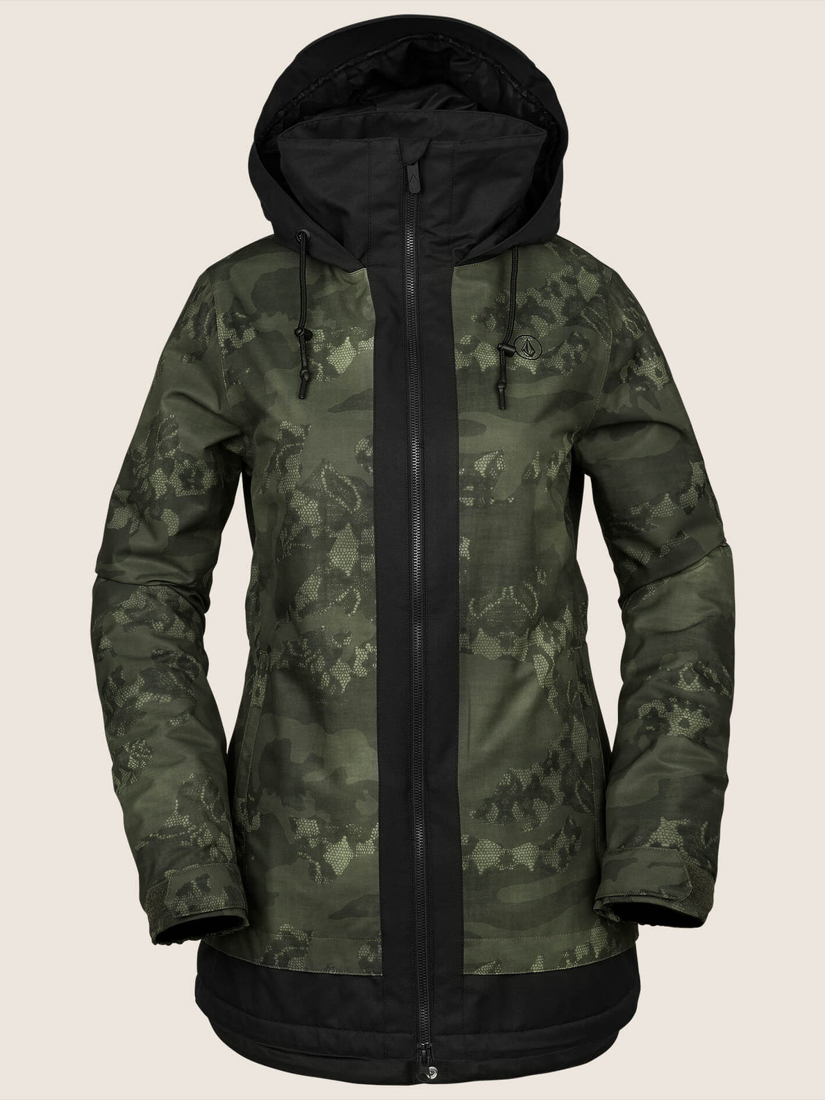 Westland Insulated Jacket In Camouflage, Front View