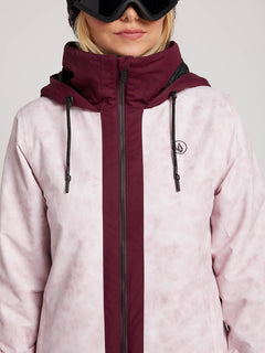 Westland Insulated Jacket In Pink, Alternate View