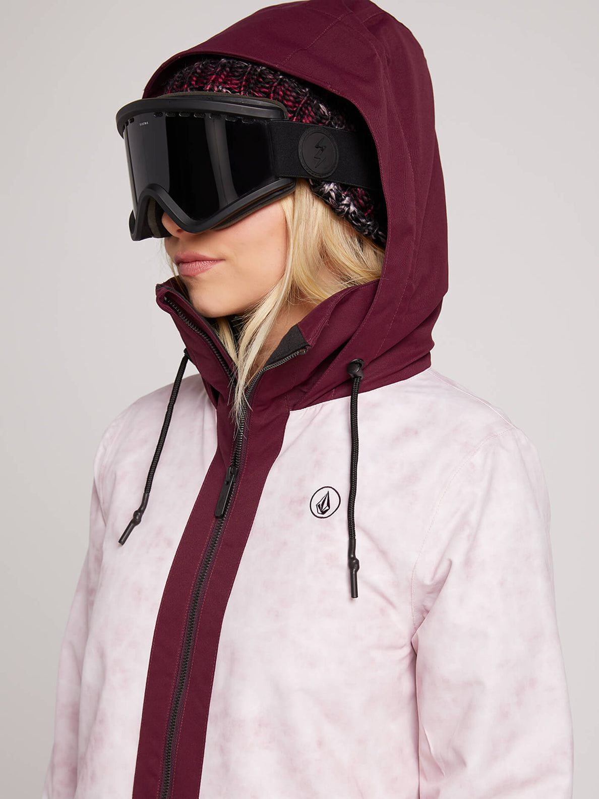 Westland Insulated Jacket In Pink, Second Alternate View