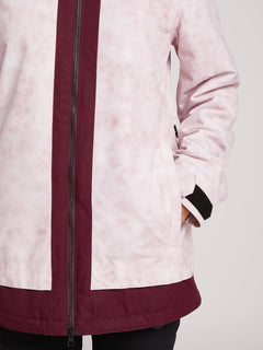 Westland Insulated Jacket In Pink, Fourth Alternate View