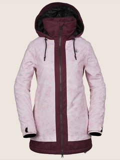 Westland Insulated Jacket In Pink, Front View