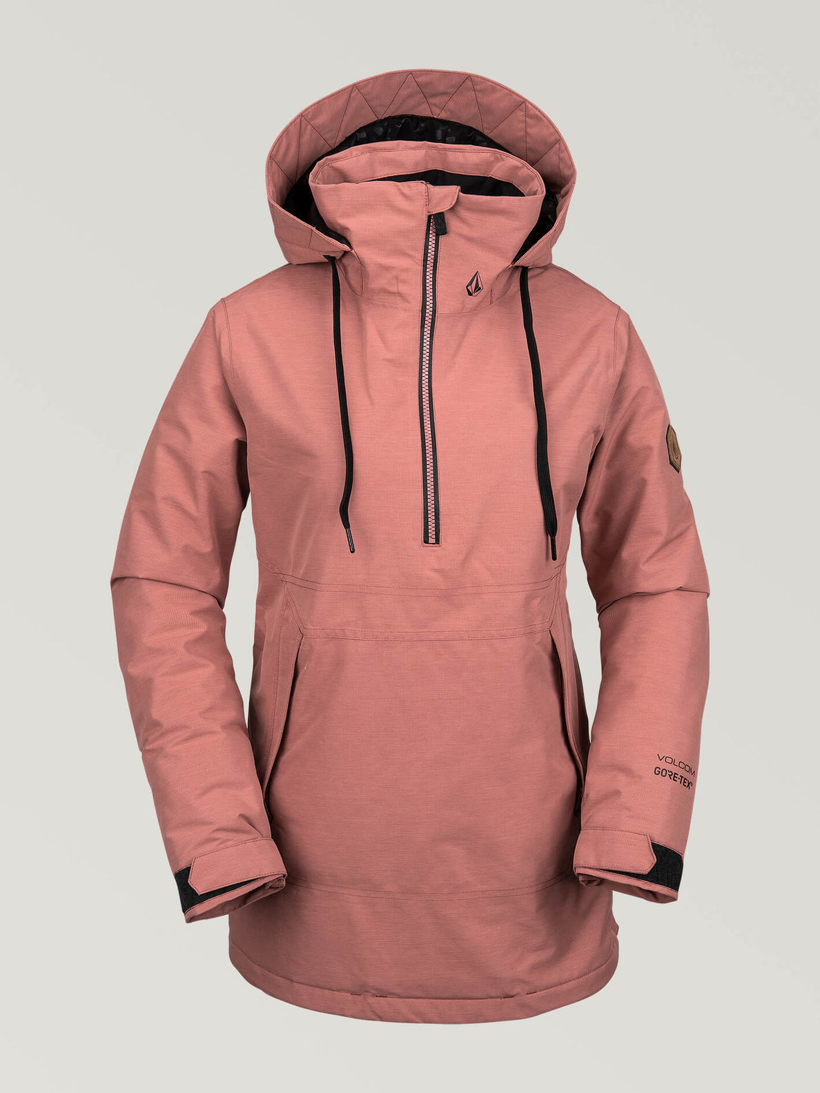 best deals on reputable site the best attitude Womens Fern Insulated Gore-Tex Pullover - Mauve – Volcom
