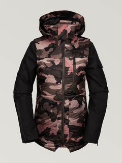 Womens Vault 4-In-1 Jacket - Faded Army