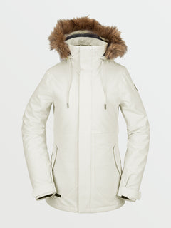 Womens Fawn Insulated Jacket - Bone (H0452011_BNE) [F]