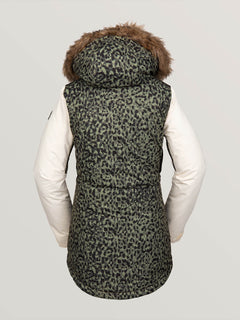 Womens Fawn Insulated Jacket - Leopard