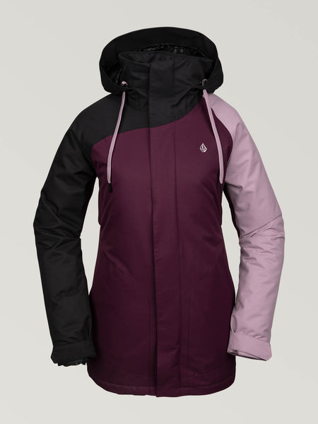 WOMENS WESTLAND INSULATED JACKET - MERLOT