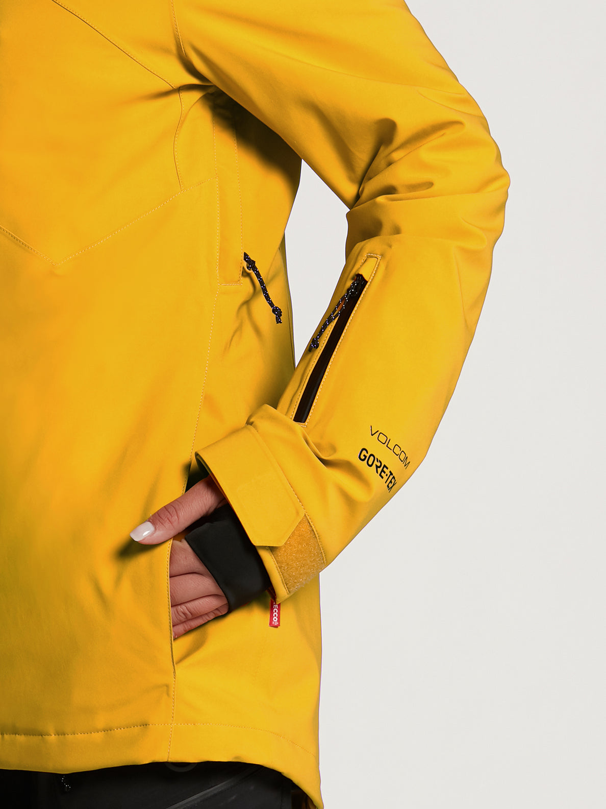 Womens 3D Stretch GORE-TEX Jacket - Acid Yellow (H0452102_AYW) [09]