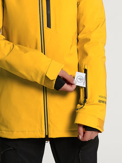 Womens 3D Stretch GORE-TEX Jacket - Acid Yellow (H0452102_AYW) [11]