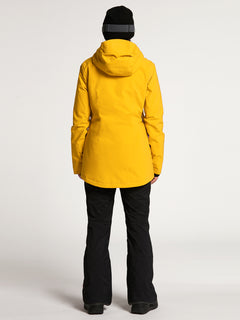 Womens 3D Stretch GORE-TEX Jacket - Resin Gold (H0452102_RSG) [2]