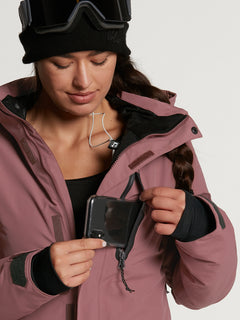 Womens Eva Insulated GORE-TEX Jacket - Black (H0452103_BLK) [12]
