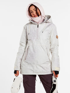 Womens Fern Insulated GORE-TEX Pullover - Bone Snake (H0452104_BNS) [22]