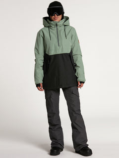 Womens Fern Insulated GORE-TEX Pullover - Dusty Green (H0452104_DGN) [21]