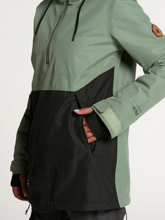 Womens Fern Insulated GORE-TEX Pullover - Dusty Green (H0452104_DGN) [27]