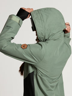 Womens Fern Insulated GORE-TEX Pullover - Dusty Green (H0452104_DGN) [38]