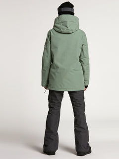 Womens Fern Insulated GORE-TEX Pullover - Dusty Green (H0452104_DGN) [B]