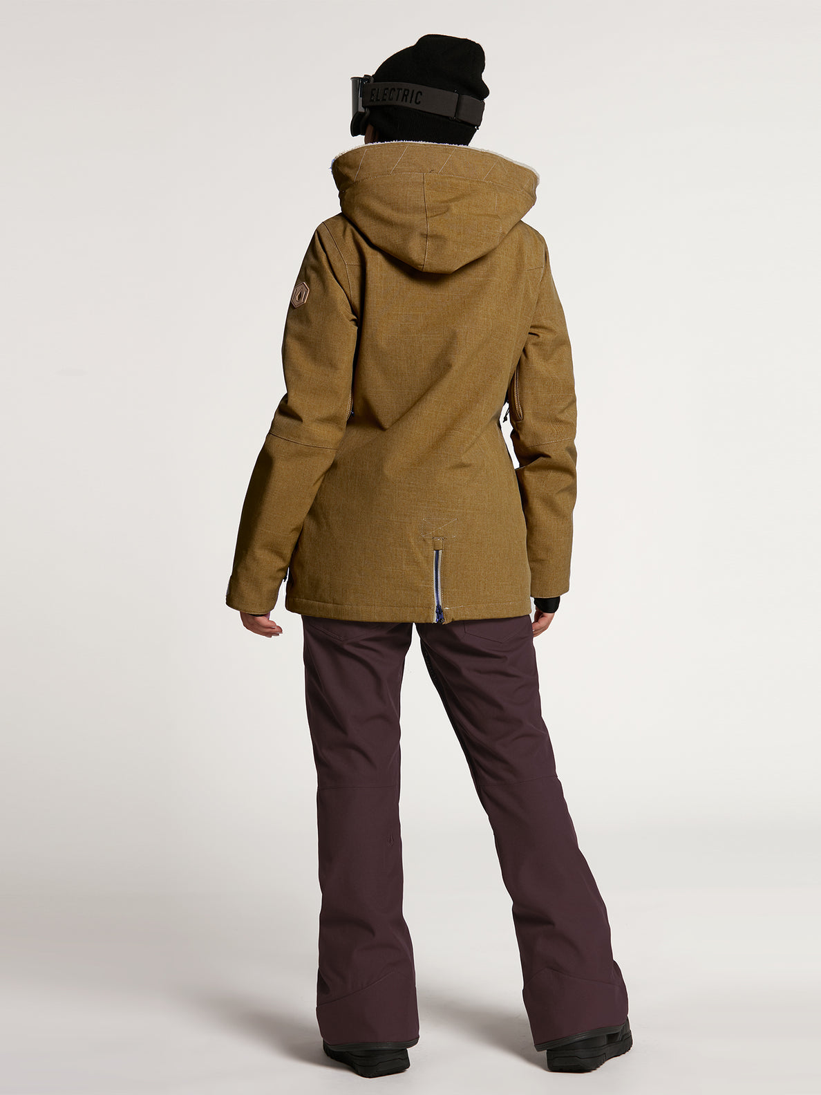 Womens Shrine Insulated Jacket - Burnt Khaki (H0452108_BUK) [12]