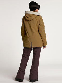 Womens Shrine Insulated Jacket - Burnt Khaki (H0452108_BUK) [B]