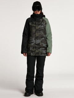 Womens Westland Insulated Jacket - Service Green (H0452113_SVG) [B]