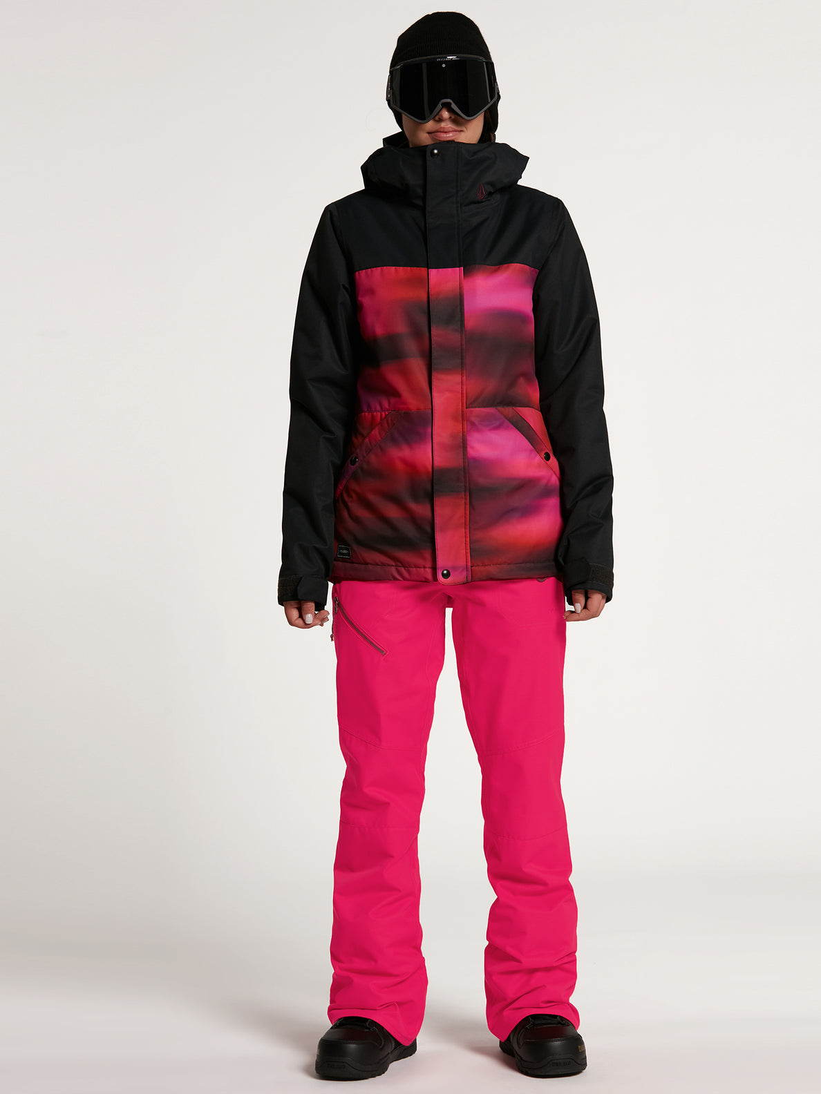 Womens Bolt Insulated Jacket - Bright Pink (H0452114_BRP) [F]
