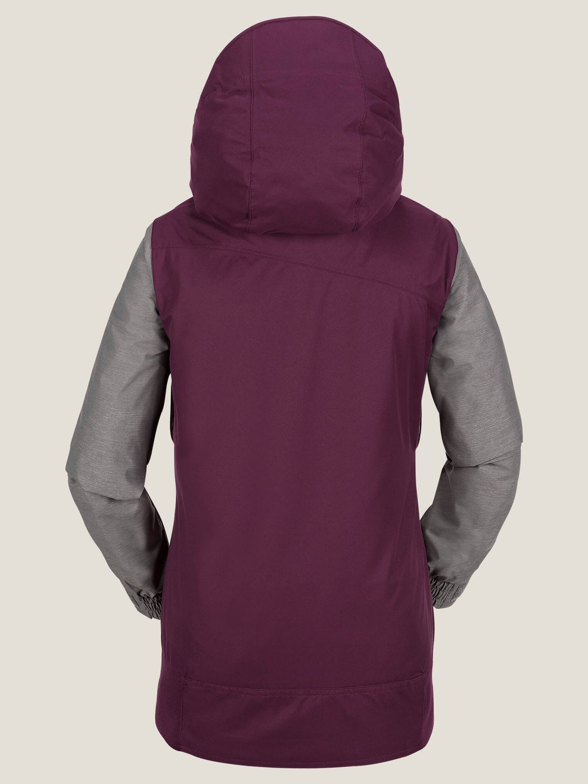 Stave Jacket In Winter Orchid, Back View