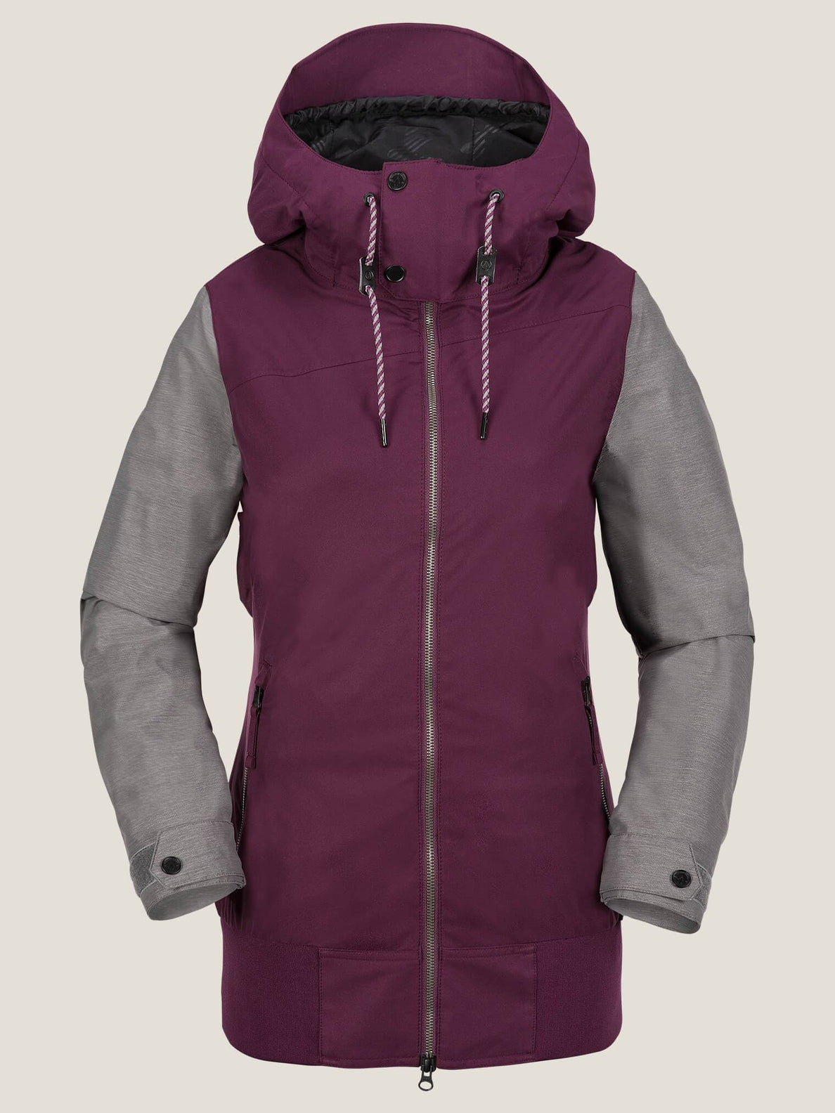 Stave Jacket In Winter Orchid, Front View