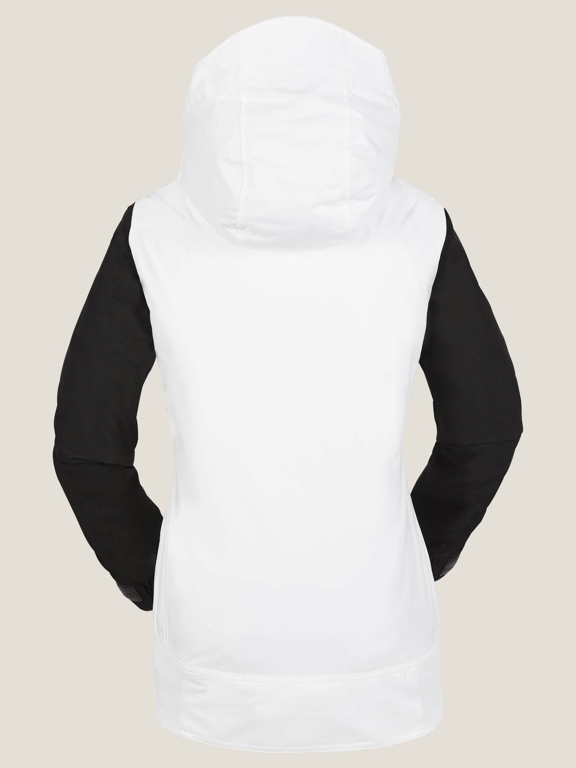 Stave Jacket In White, Back View