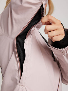 Leda Gore-tex Jacket In Rose Wood, Fifth Alternate View