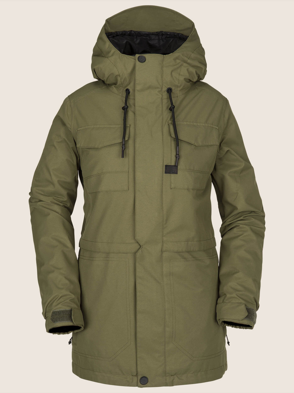 Leeland Jacket In Snow Military, Front View