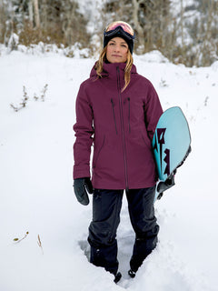 Womens VS Stretch GORE-TEX Jacket - Vibrant Purple (H0652103_VIB) [201]