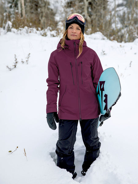 Womens VS Stretch GORE-TEX Jacket - Vibrant Purple